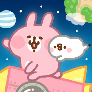 "Icon: Kanahei's Small animals Piske & Usagi ""Go Rocket Go!"""