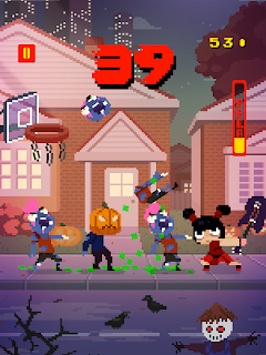 Screenshot 2: Basketball vs  Zombies