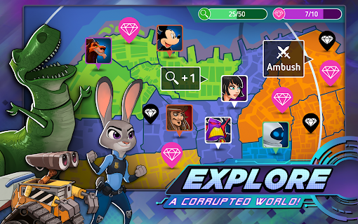 Screenshot 4: Disney Heroes: Battle Mode