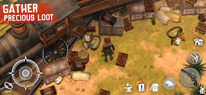 Screenshot 4: Westland Survival - Be a survivor in the Wild West