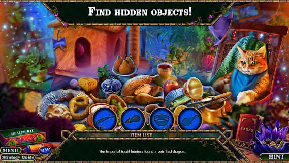 Screenshot 1: Hidden Objects Enchanted Kingdom 4 (Gratis)