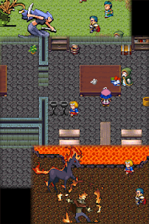 Screenshot 3: Yorozuya RPG