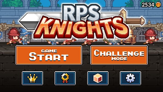 Screenshot 1: RPS Knights
