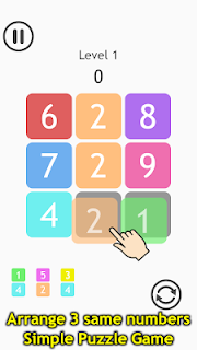 Screenshot 1: Number Tic-Tac-Toe IQ Puzzle