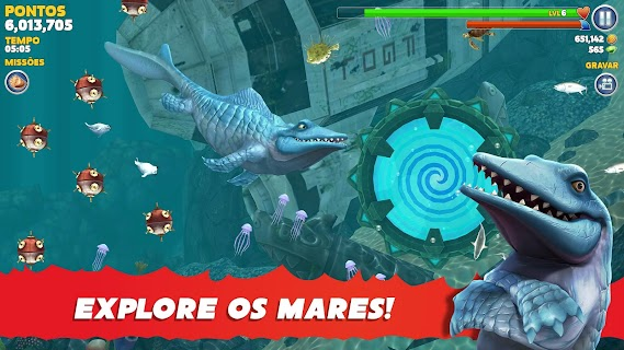 Screenshot 2: Hungry Shark Evolution | Global
