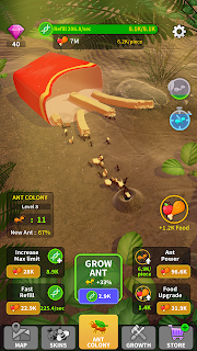 Screenshot 4: Little Ant Colony - Idle Game