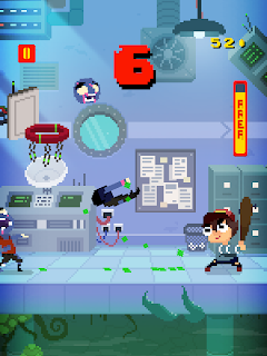 Screenshot 3: Basketball vs  Zombies