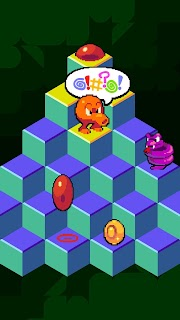 Screenshot 1: Q*bert