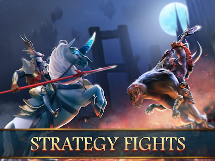 Screenshot 2: Mobile Royale MMORPG - Build a Strategy for Battle