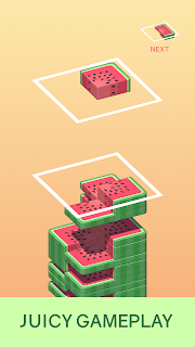 Screenshot 1: Juicy Stack - 3D Tile Puzzlе