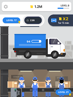 Screenshot 3: Post Office – Idle Game