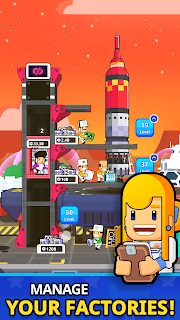 Screenshot 4: Rocket Star - Idle Space Factory Tycoon
