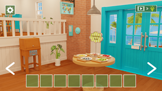 Screenshot 1: Room Escape Game Hawaiian Pancake