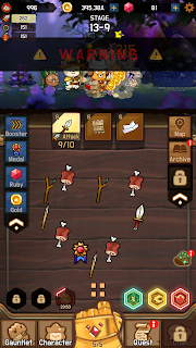 Screenshot 2: MERGE TRIO : afk adventure RPG