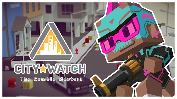 Screenshot 1: City Watch: the Rumble Masters - Pixel Brawl PVP