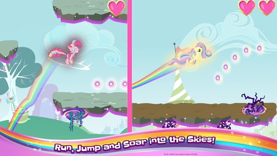 Screenshot 1: My Little Pony Rainbow Runners