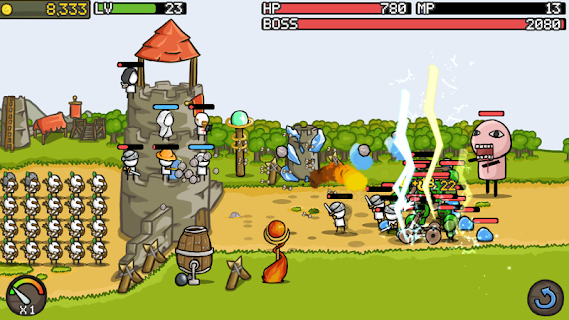 Screenshot 2: Grow Castle