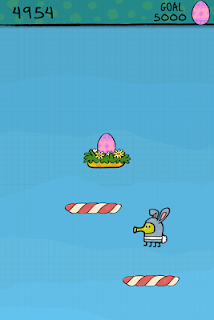 Screenshot 4: Doodle Jump Easter Special