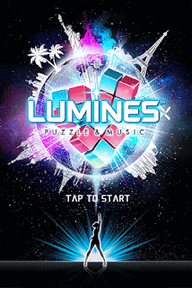 Screenshot 1: Lumines 2016