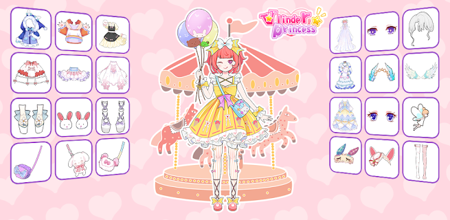 Screenshot 1: Vlinder Princess - Dress Up Party, Avatar Fairy
