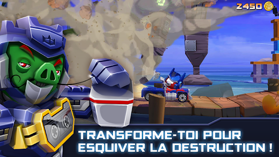 Screenshot 4: Angry Birds Transformers