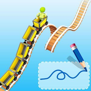 Icon: Draw Rollercoaster 3d