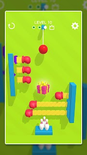Screenshot 3: Line Cut Bowling
