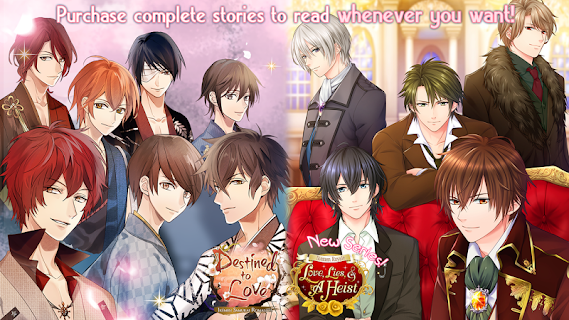 Screenshot 2: Otome Romance Novels