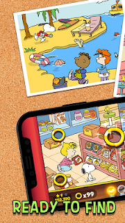 Screenshot 1: Snoopy Spot the Difference | Global