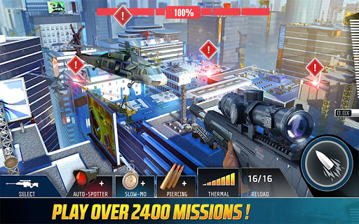 Screenshot 1: Kill Shot Bravo: Free 3D Shooting Sniper Game