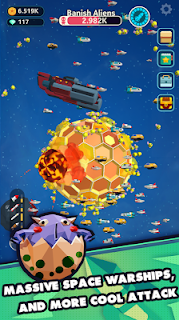 Screenshot 3: Planet Invader
