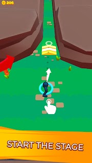Screenshot 1: Stickman Dash