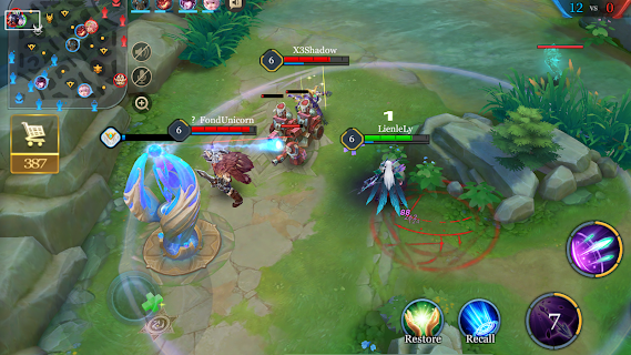 Screenshot 1: Arena of Valor | อังกฤษ