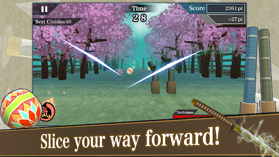 Screenshot 2: Samurai Sword