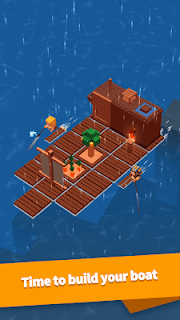 Screenshot 1: Idle Arks: Build at Sea