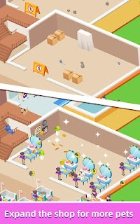 Screenshot 3: Idle Pet Salon