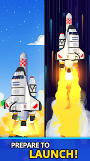 Screenshot 2: Rocket Star - Idle Space Factory Tycoon