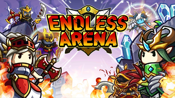 Screenshot 1: Endless Arena - Idle Strategy Battle