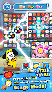 Screenshot 1: BT21 POP STAR