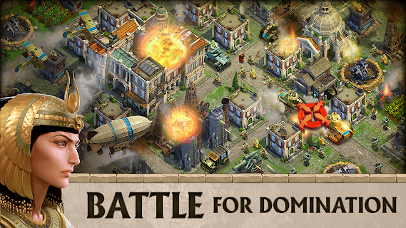 Screenshot 1: DomiNations | อังกฤษ