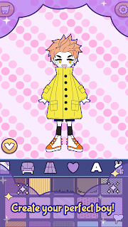 Screenshot 3: BatDoll Dress up doll boy - avatar character maker