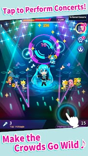 Screenshot 2: Hatsune Miku -TAP WONDER-