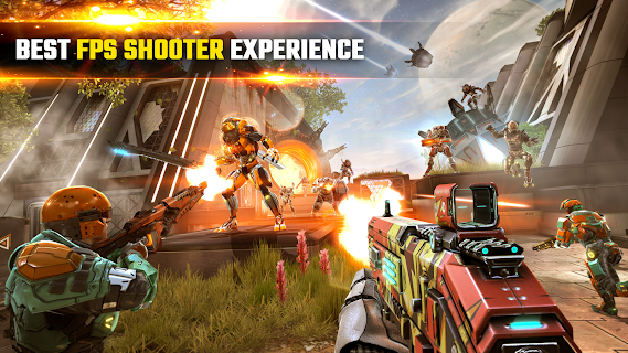 Screenshot 1: SHADOWGUN LEGENDS