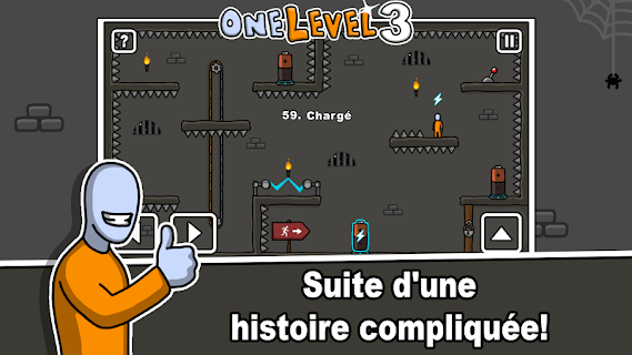 Screenshot 1: One Level 3: Stickman Jailbreak