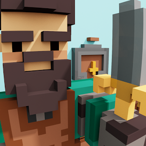 Icon: ForgeCraft - Idle Tycoon. Crafting Business Game.