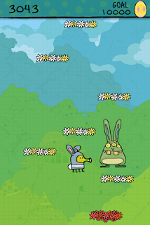 Screenshot 1: Doodle Jump Easter Special