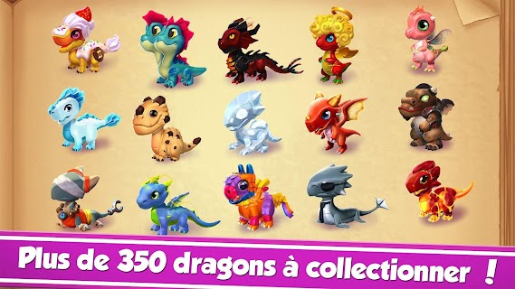 Screenshot 1: Dragon Mania Legends - Simulateur de Dragons