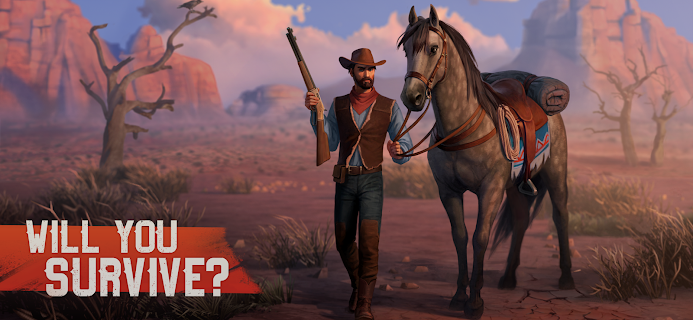 Screenshot 2: Westland Survival - Be a survivor in the Wild West