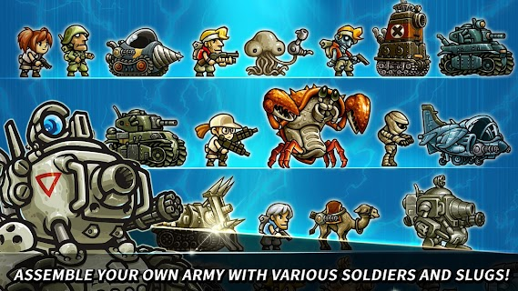 Screenshot 2: Metal Slug Infinity : Idle Game | Global