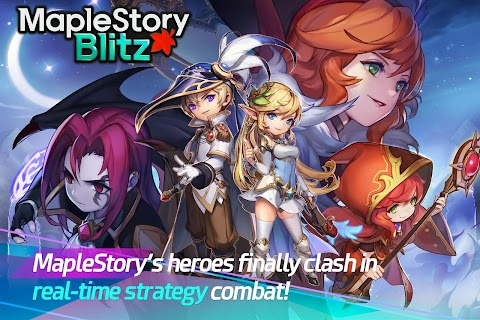 Screenshot 1: MapleStory Blitz